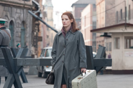 The Debt is a masterful spy thriller [Jessican Chastain in the Debt 425x284] (IMAGE)