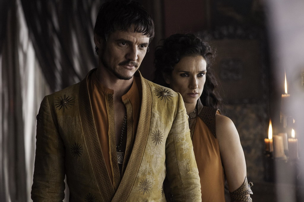 Pedro-Pascal-Indira-Varma-Game-of-thrones-season-four