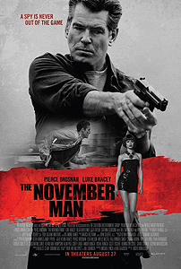 The November Man poster Win passes to see The November Man in Cincinnati