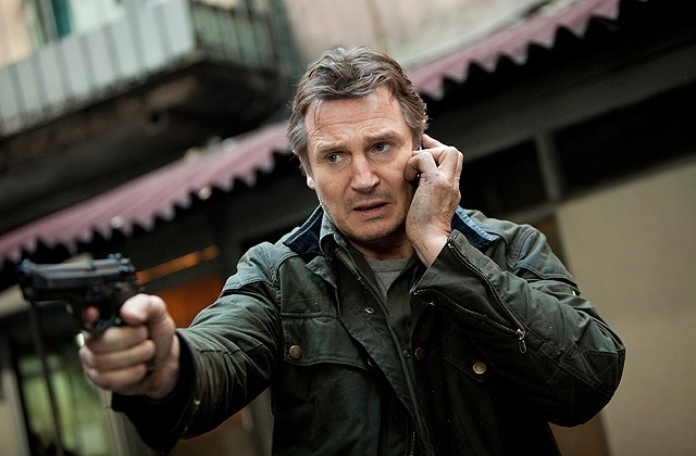 "Liam Neeson in ""Taken 2"" on DVD and Blu-ray"
