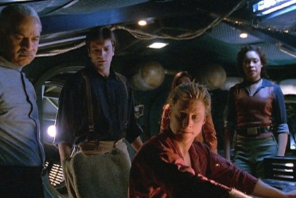 Firefly   The week that was [The crew on the bridge of Serenity 425x284] (IMAGE)