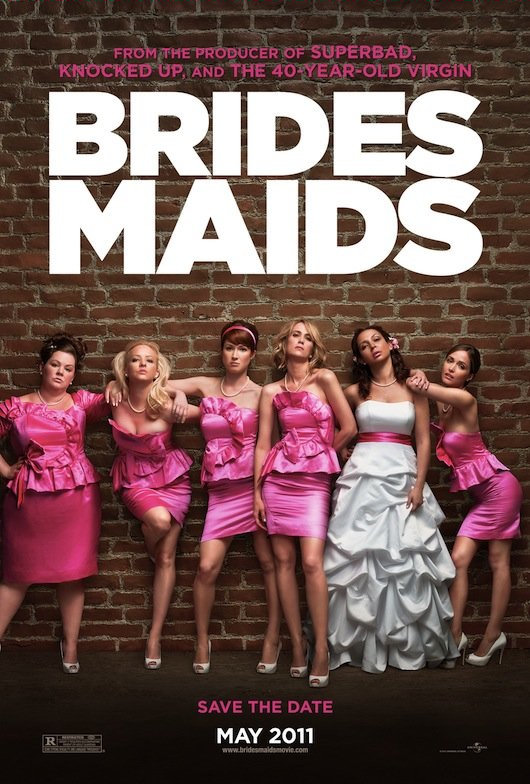 "Kristin Wiig and Maya Rudolph star in ""Bridesmaids"""