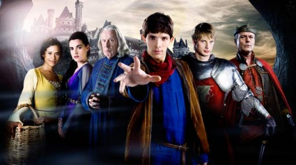 Merlin – Season 2 premiere features Bradley James' abs and